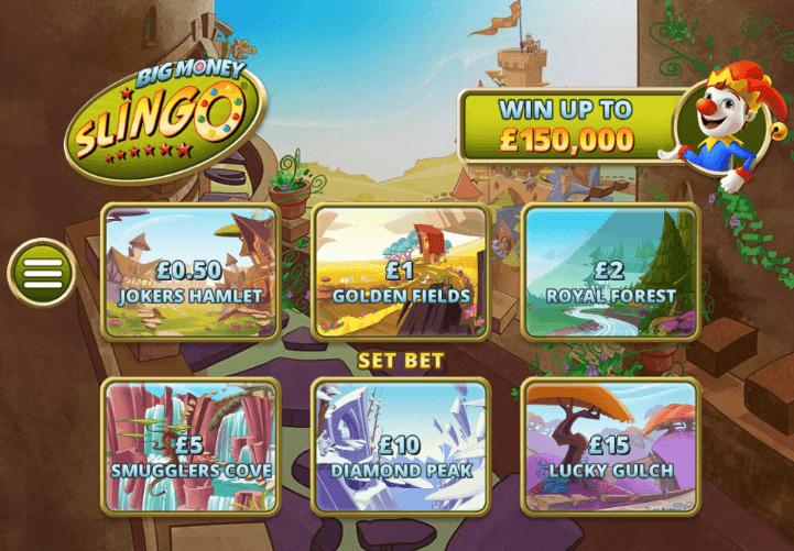 slingo gameplay
