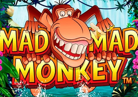 Mad Mad Monkey slot logo