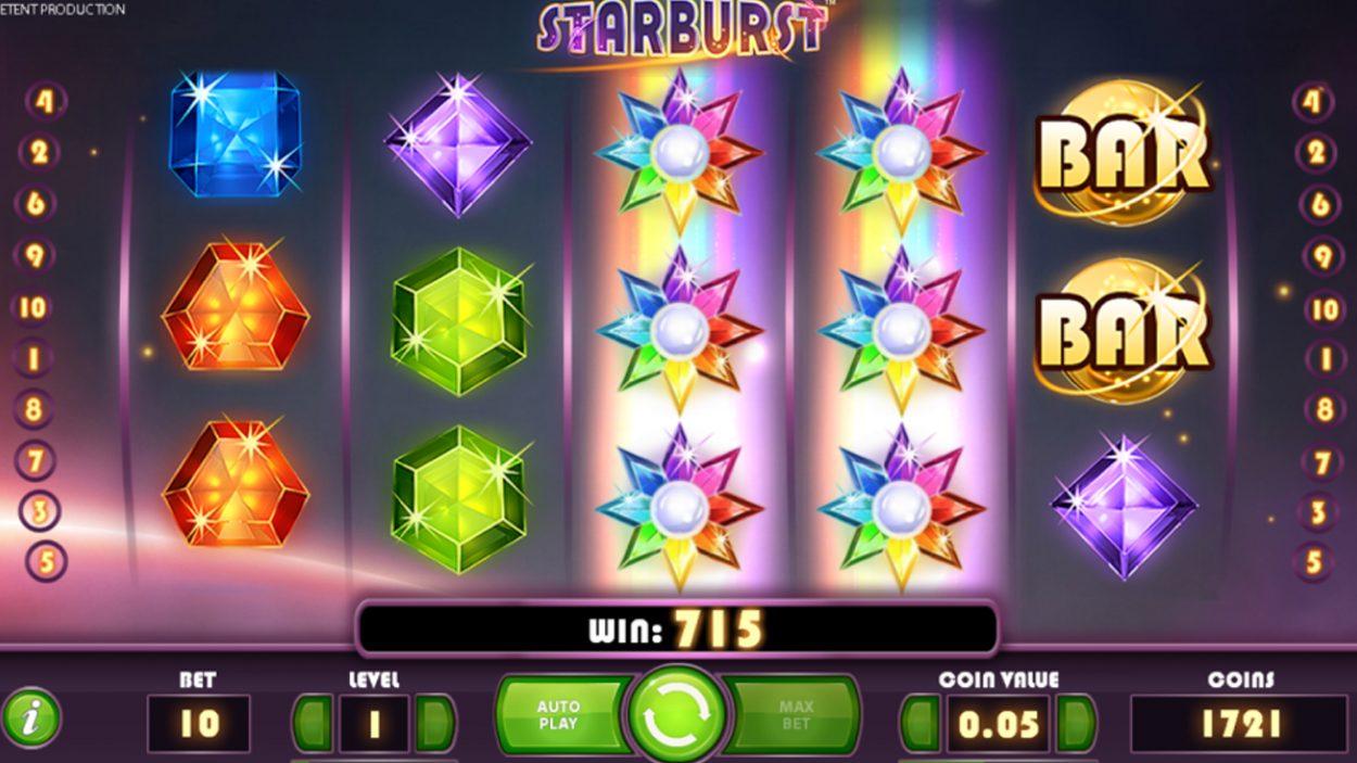 Starburst free spins slot