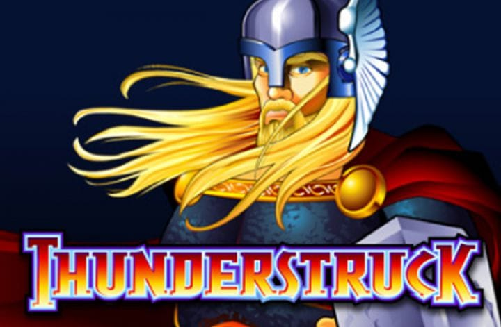 Thunderstruck slot game logo