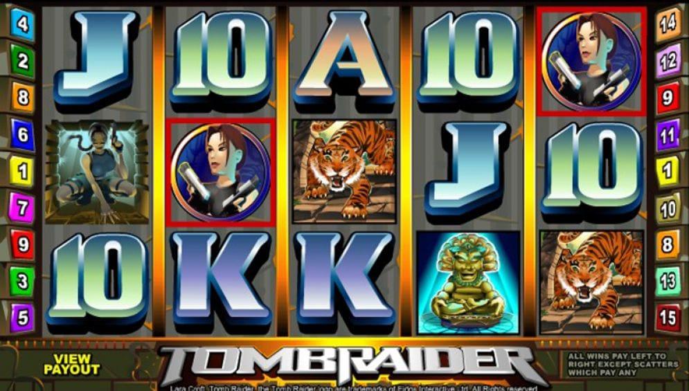 Tomb Raider gameplay casino