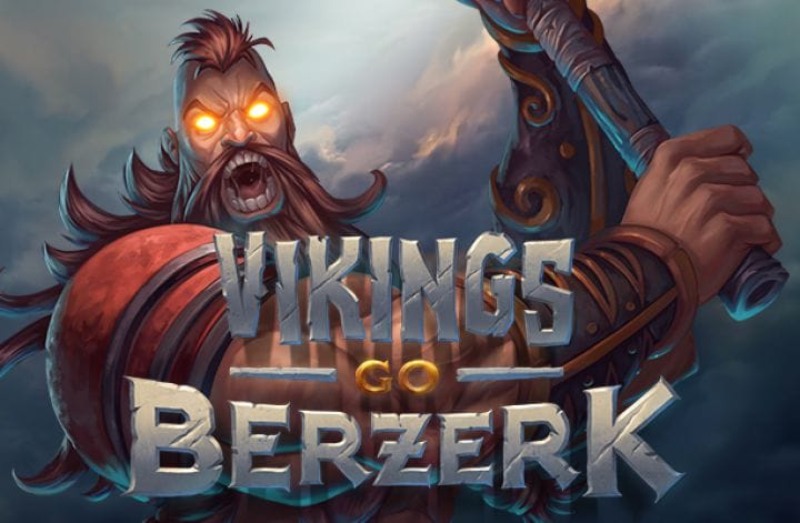 Vikings Go bezerk slot logo