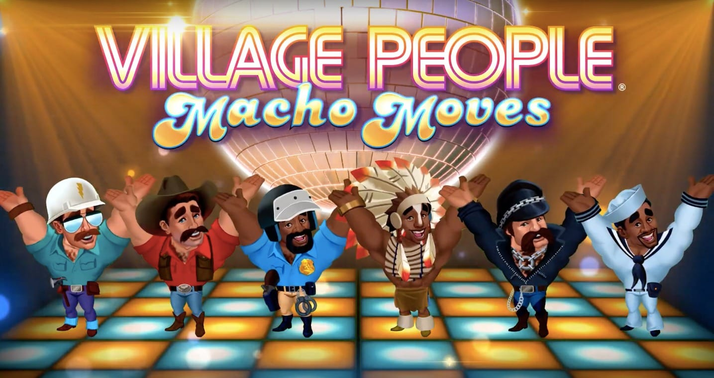 village people macho moves logo