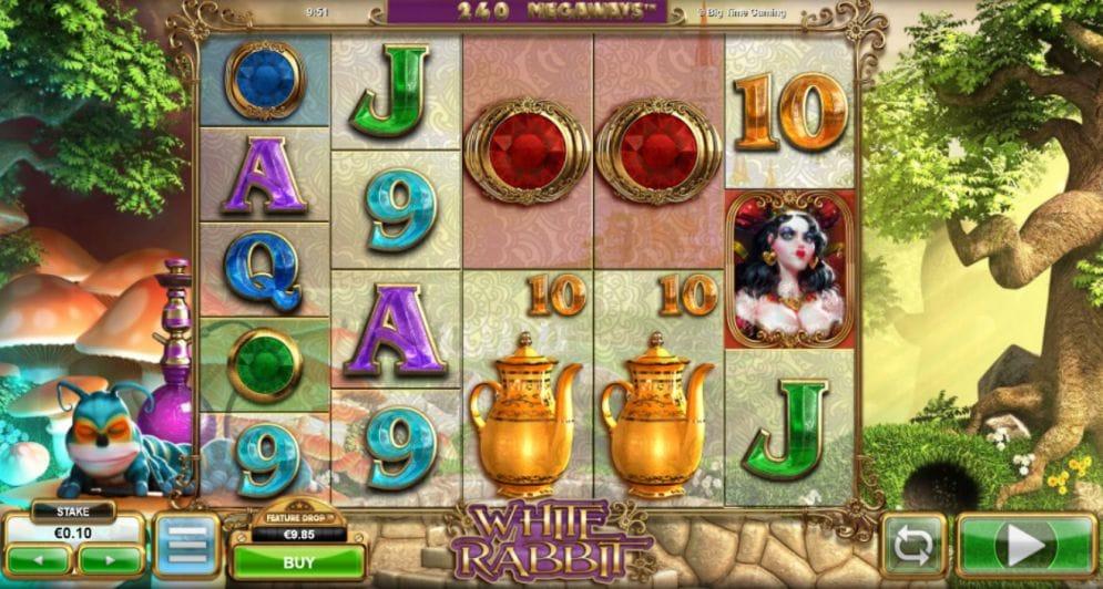 White Rabbit online casino gameplay