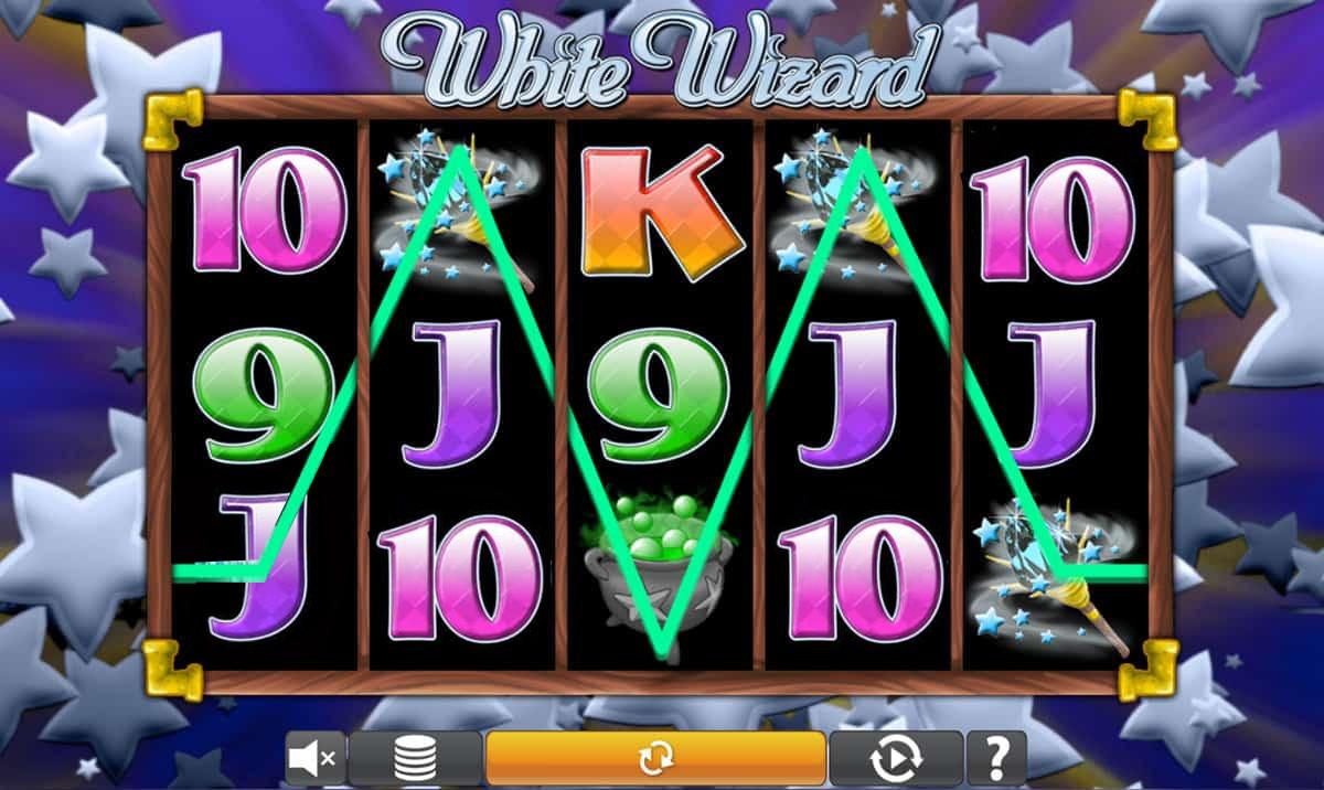 White Wizard Video Slot Gameplay