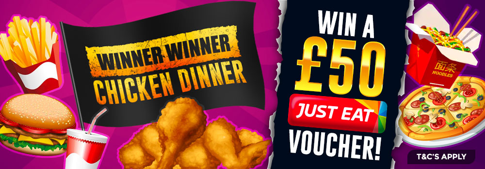 JustEat offer - DaisySlots